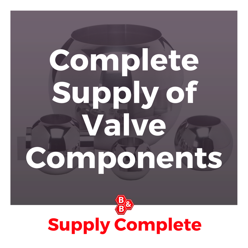 Complete Supply of Valve Components