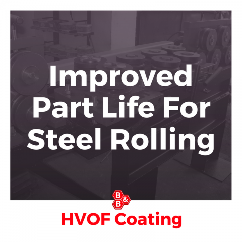 Improved Part Life For Steel Rolling
