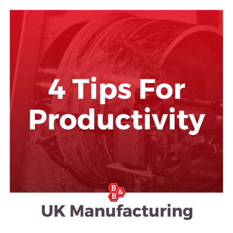4 Tips For Productivity