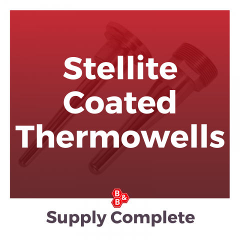 Stellite Coated Thermowells