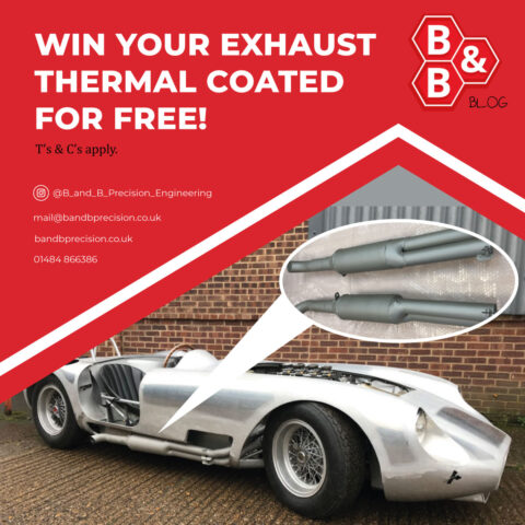 Win your exhaust thermal coated for FREE!