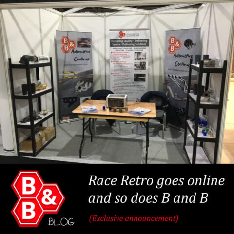 Race Retro goes online and so does B and B!