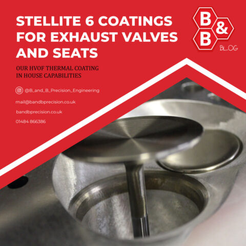 Stellite 6 Coatings for Exhaust Valves and Seats