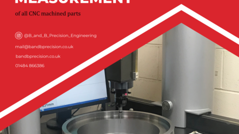 B and B's CMM ensures precision measurement of all CNC machined parts
