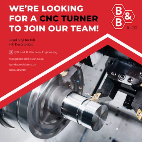 We're looking for a CNC Turner to join our team!