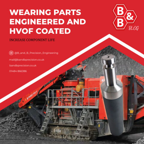 Wearing Parts Engineered and HVOF Coated