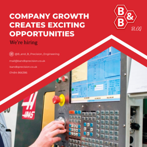 Company growth creates exciting opportunities