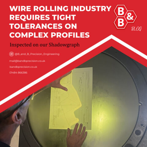 Wire Rolling Industry requires tight tolerances on complex profiles