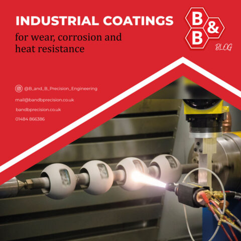 Industrial Coatings for wear, corrosion and heat resistance