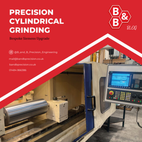 Precision Cylindrical Grinding with new bespoke upgrades