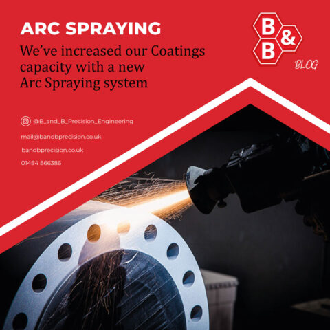 New Arc Spraying system increases coating capacity