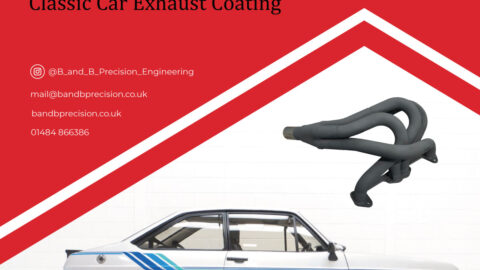 Classic Car Ford Escort Harrier Exhaust Coating